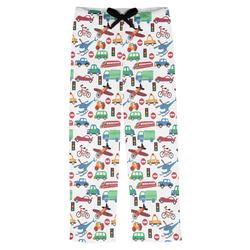 Transportation Mens Pajama Pants (Personalized)