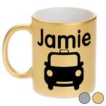 Transportation Metallic Mug (Personalized)