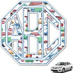 Transportation Monogram Car Decal (Personalized)