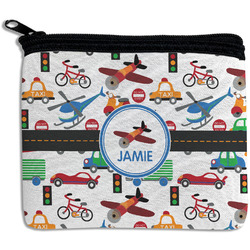 Transportation Rectangular Coin Purse (Personalized)