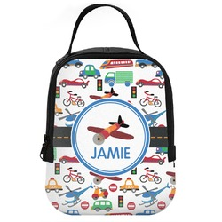 Transportation Neoprene Lunch Tote (Personalized)