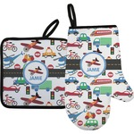 Transportation Oven Mitt & Pot Holder (Personalized)
