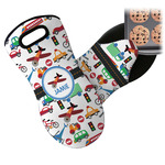 Transportation Neoprene Oven Mitt (Personalized)