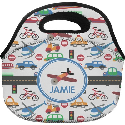 Transportation Lunch Bag (Personalized)