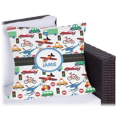 Transportation Outdoor Pillow (Personalized)