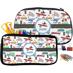 Transportation Pencil / School Supplies Bag (Personalized)