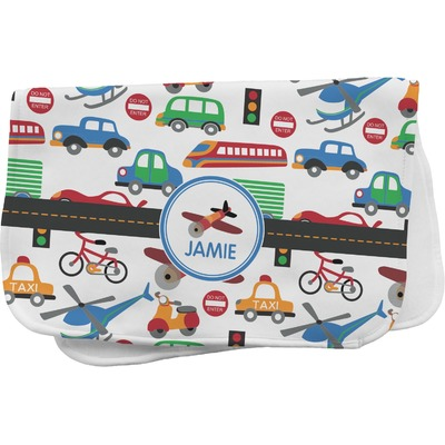 Transportation Burp Cloth (Personalized)