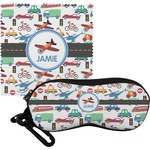 Transportation Eyeglass Case & Cloth (Personalized)