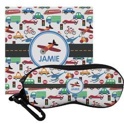 Transportation Eyeglass Case & Cloth (Personalized)