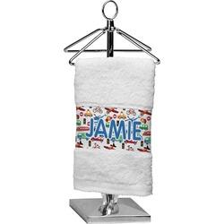 Transportation Finger Tip Towel (Personalized)