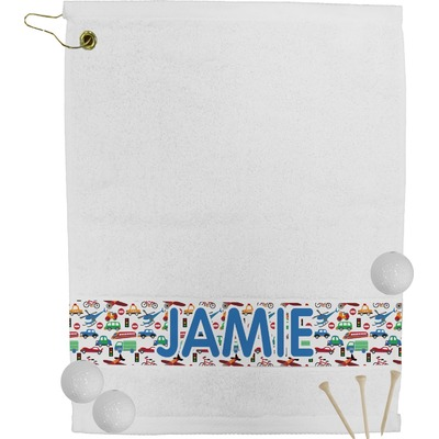 Transportation Golf Towel (Personalized)