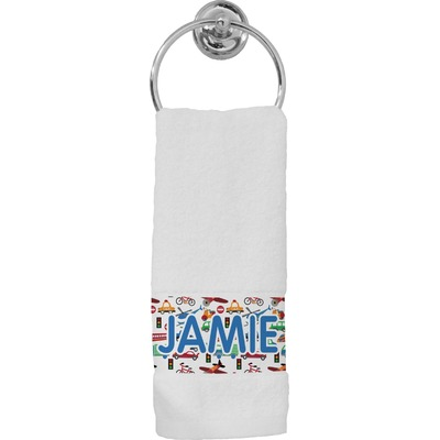 Transportation Hand Towel (Personalized)