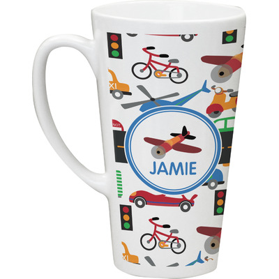 Transportation Latte Mug (Personalized)