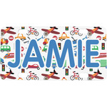 Transportation Mini / Bicycle License Plate (Personalized)