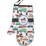 Transportation Left Oven Mitt (Personalized)