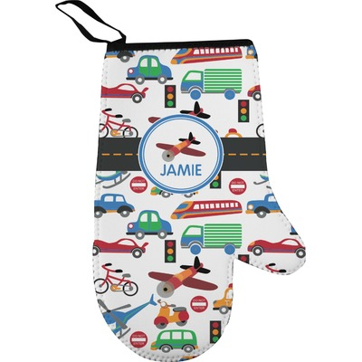 Transportation Right Oven Mitt (Personalized)