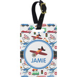 Transportation Rectangular Luggage Tag (Personalized)
