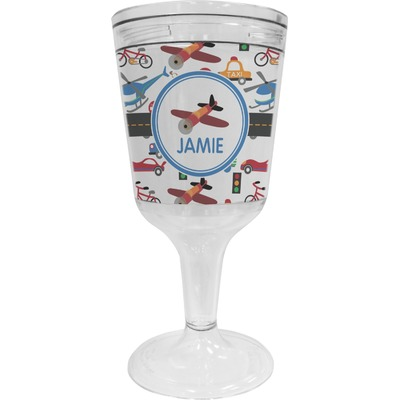 Transportation Wine Tumbler (Personalized)