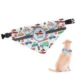 Transportation Dog Bandana (Personalized)