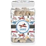 Transportation Pet Treat Jar (Personalized)