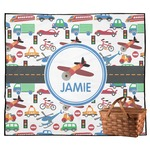 Transportation Outdoor Picnic Blanket (Personalized)