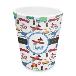 Transportation Plastic Tumbler 6oz (Personalized)