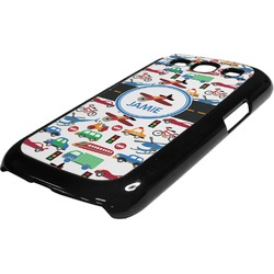 Transportation Plastic Samsung Galaxy 3 Phone Case (Personalized)