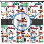Transportation Shower Curtain (Personalized)