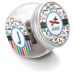 Transportation Puppy Treat Jar (Personalized)