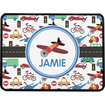 Transportation Rectangular Trailer Hitch Cover (Personalized)