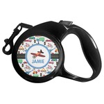 Transportation Retractable Dog Leash - Multiple Sizes (Personalized)