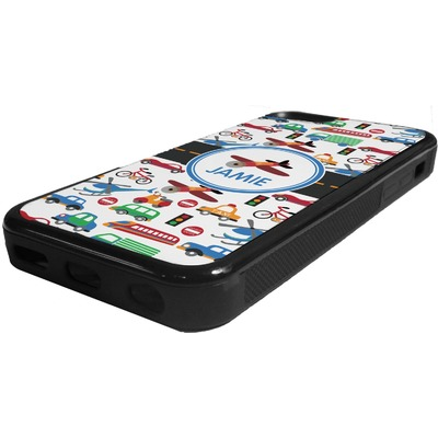 Transportation Rubber iPhone 5C Phone Case (Personalized)