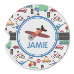 Transportation Sandstone Car Coasters (Personalized)