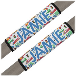 Transportation Seat Belt Covers (Set of 2) (Personalized)