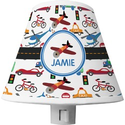 Transportation Shade Night Light (Personalized)