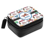 Transportation Small Leatherette Travel Pill Case (Personalized)