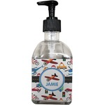 Transportation Soap/Lotion Dispenser (Glass) (Personalized)