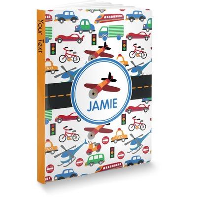Transportation Softbound Notebook (Personalized)