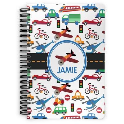 Transportation Spiral Notebook (Personalized)