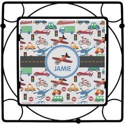 Transportation Square Trivet (Personalized)