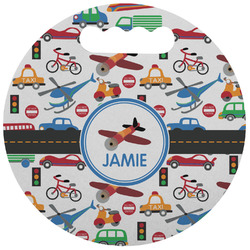 Transportation Stadium Cushion (Round) (Personalized)