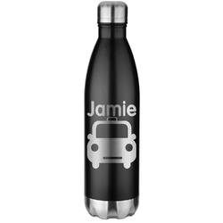 Transportation Water Bottle - 26 oz. Stainless Steel (Personalized)