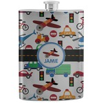 Transportation Stainless Steel Flask (Personalized)