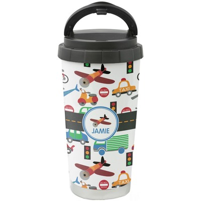 Transportation Stainless Steel Coffee Tumbler (Personalized)