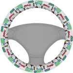 Transportation Steering Wheel Cover (Personalized)