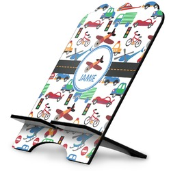 Transportation Stylized Tablet Stand (Personalized)