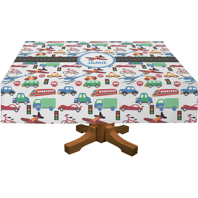 Transportation Tablecloth (Personalized)