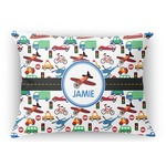 Transportation Rectangular Throw Pillow (Personalized)