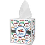 Transportation Tissue Box Cover (Personalized)