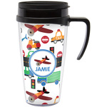 Transportation Travel Mug with Handle (Personalized)